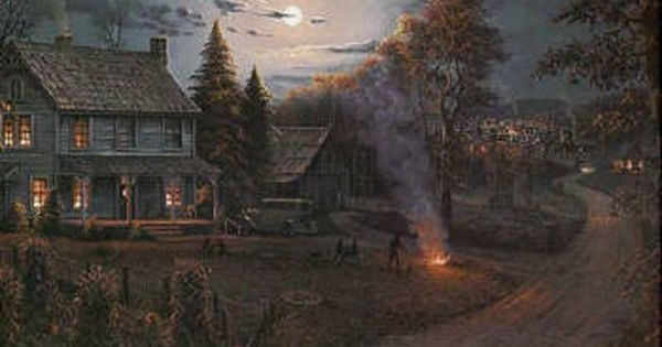 Thomas Kinkade Fall Wallpaper October Radiance Jesse Barnes Jesse Barnes Pinterest