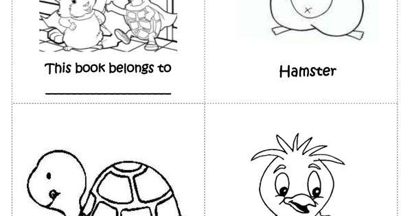 pets-mini-book-preschool by eraquelcq via Slideshare