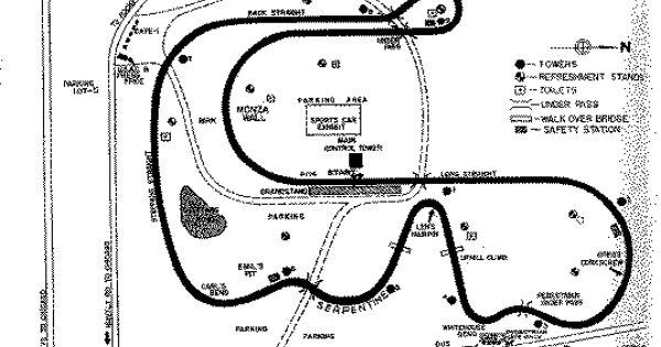 Meadowdale International Raceway was a 3.27 mile track