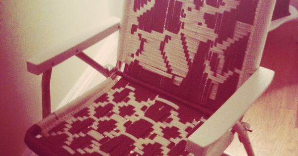 macrame lawn chair posture care reviews chairs | canada, free pattern and