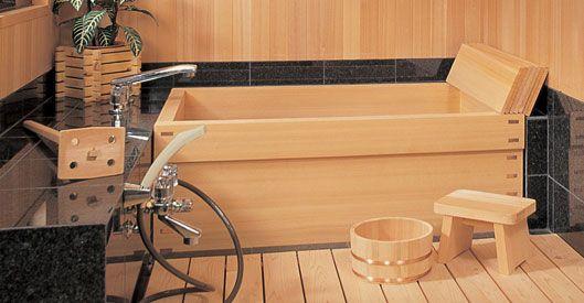 Baignoire Japonaise Bois - Idées de décoration d\'intérieur ...