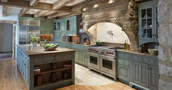 Italian Farmhouse Kitchen From Scratch Pinterest