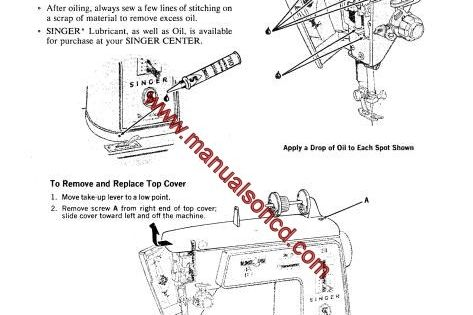 Singer 626 Sewing Machine Instruction Manual Touch And Sew