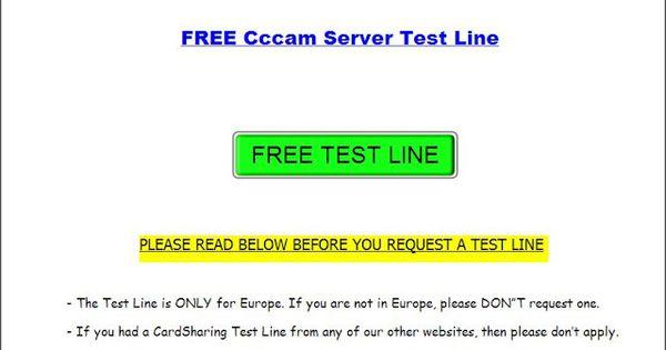 Free Test Cccam Cline Websites  Dreambox Dm500s Tutorials