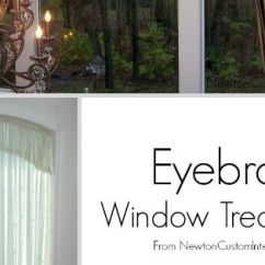 Ideas For Decorating A Long Living Room Wall Art The Eyebrow Window Treatments | Treatments, Beautiful ...