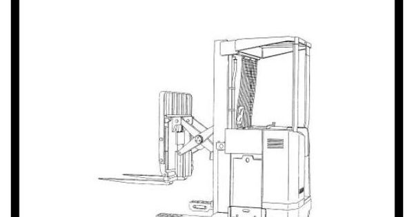 Original Illustrated Factory Workshop Manual for Hyster Electric Forklift Truck Type G138