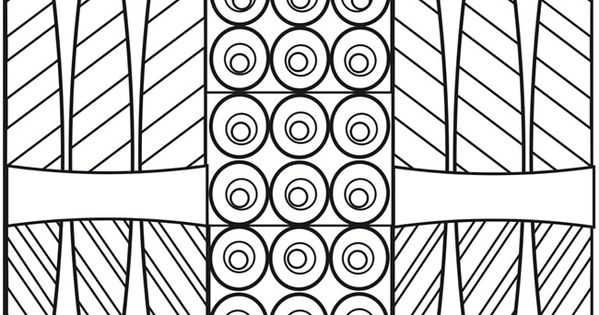 Creative Haven Playful Patterns Coloring Book Dover