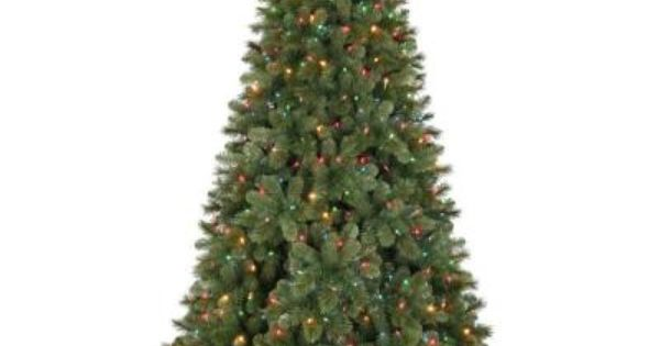 7.5 Ft. Pre-Lit LED Wesley Mixed Spruce Artificial