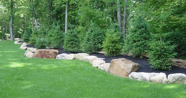 berm landscaping ideas