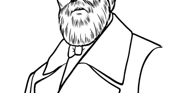 Coloring pages for US history. Places, presidents, events