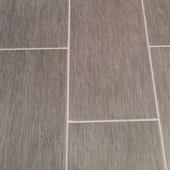 Small Kitchen Floor Tile Ideas Subway Backsplash Home Depot Metro Gris 12x24 In My Bathroom! | House ...