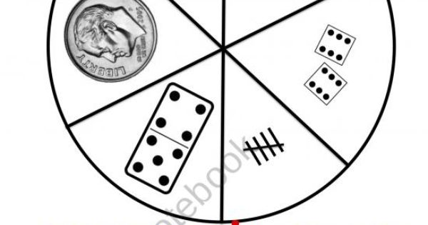 SPIN IT TO WIN IT MATH GAME from Wild about Teaching on