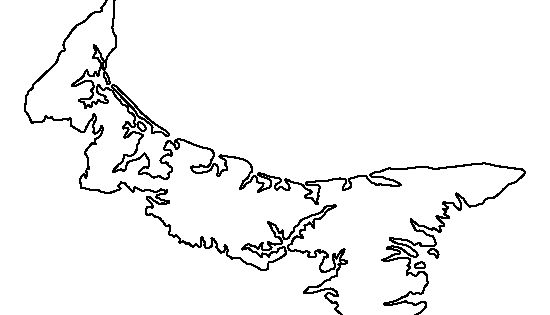 Prince Edward Island pattern. Use the printable outline