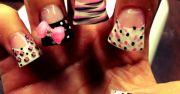 ghetto nail design fake