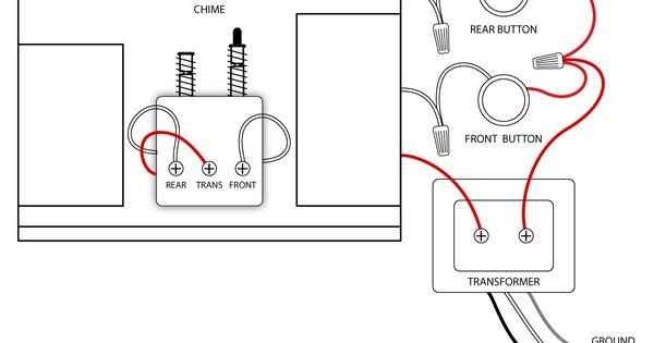 wiring doorbell to 2 doors
