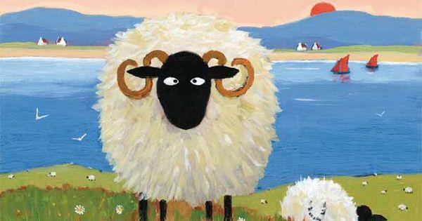 Ewe Ok Friend Sheep TJ Pinterest Sheep Art Folk