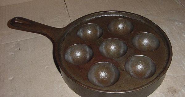 Griswold Danish Aebleskiver Pan Egg Poacher No 32 962 Made