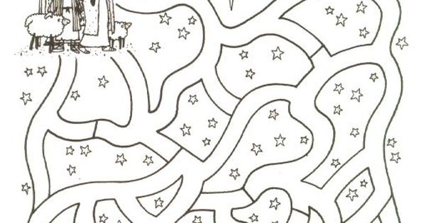 Religious Christmas Coloring Pages For Kids » Fk coloring
