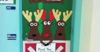christmas character door decorations idea | The Best ...