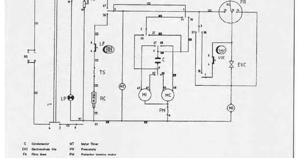 Cómo conectar el timer de lavarropas Drean excellent 166