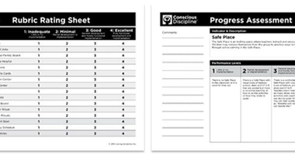 Conscious Discipline® Progress Assessment Rubrics #
