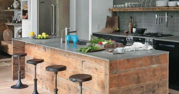 Rustikale Küchen Selber Bauen | Küchen Designs Mit ...