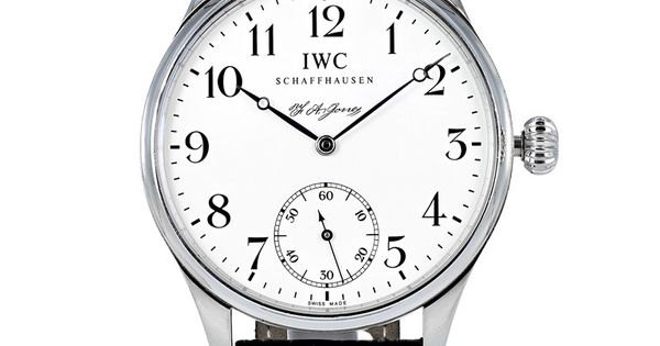IWC Platinum Portuguese FA Jones Limited Edition