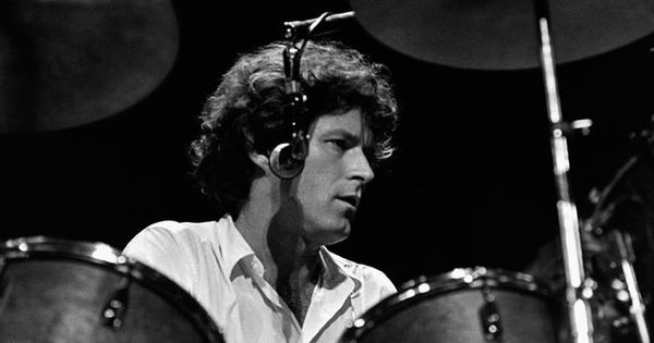 Don Henley behind his drum kit  Eagles  Pinterest  The ojays Drummers and Drums