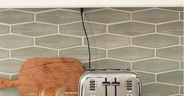 kitchen backsplash trends faucet black sea glass tile white | elongated ...
