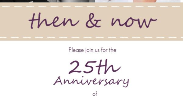 Casual Purple And White Wedding Anniversary Party
