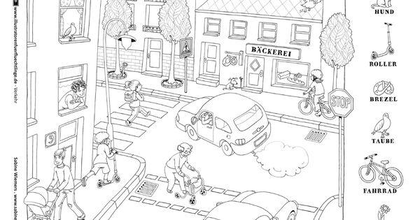 Download als PDF: Verkehr – Straßenszene
