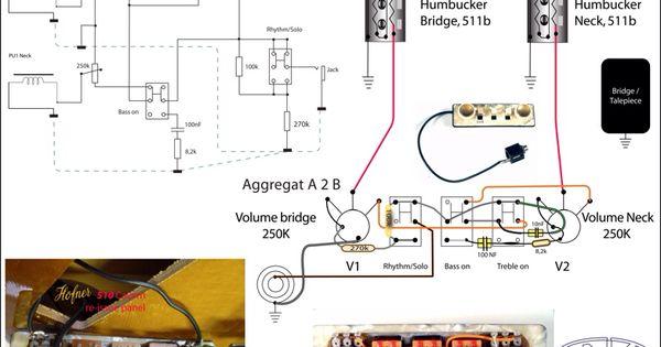 Hofner Guitar Wiring Diagrams