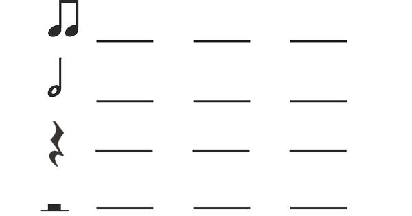 1st/2nd grade rhythm practice worksheet. Good for centers