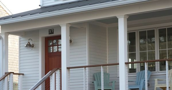 Cable Wire Railing House Exterior Pinterest Cable Wire Exterior Paint Ideas And Porch