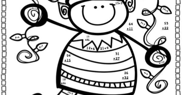 Christmas Math Activities ~ Christmas Elf Equations