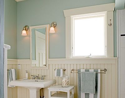 Icy blue againthis time in a bathroom  Home design