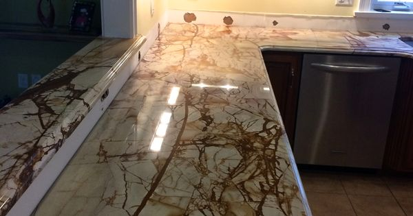 Roma Imperiale Quartzite Countertop Just Installed In