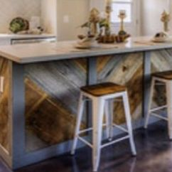 3 Piece Table And Chair Set Slip Covers Saw This On Flip Or Flop Hgtv Show... Obsessed With Rustic Multi Wood Island