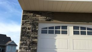 Stonecraft Ledgestone In Kingsford Grey For Our Craftsman