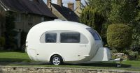 Barefoot Caravan - designed by a woman in the UK. Love it ...