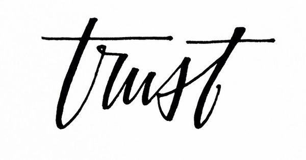TRUST ☆ Everything you want is coming. Trust. Let the