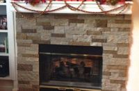 Airstone Stacked Stone Fireplace Update | Best Airstone ...