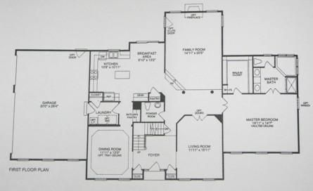 FIRST FLOOR MASTER BEDROOMS FLOOR PLANS NOT AS EASY AS