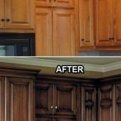 Kitchen Backsplash Ideas On A Budget Corner Cabinet Before And After: 25+ Friendly Makeover ...