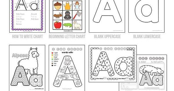 Instant Letter of the Week Preschool Activities, Games and