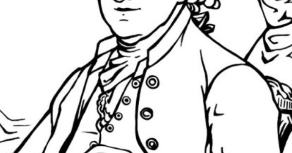 Founding Fathers Coloring Pages Coloring Pages