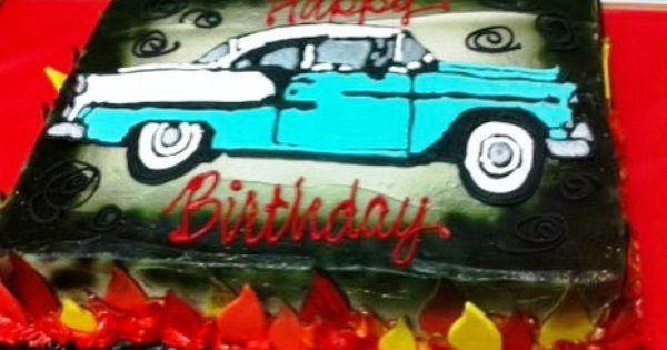 1955 Chevy Birthday Cake ! Crazy Scary & Fun Pictures