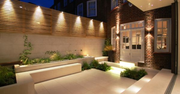Garden Illuminations And Great Patio For Entertaining Let's Take