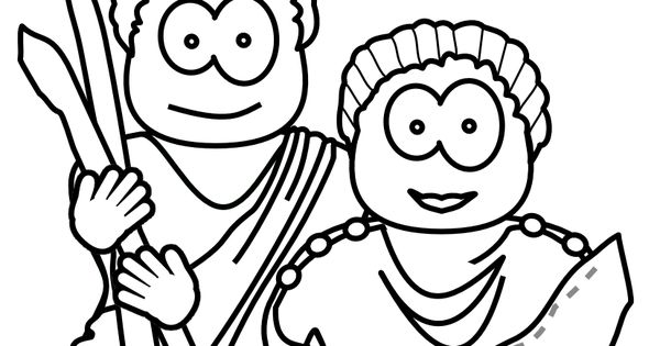 Aquila And Priscilla Bible Coloring Pages Sketch Coloring Page