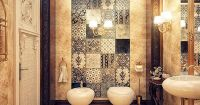 Jaw-droppingly Gorgeous Bathrooms That Combine Vintage ...